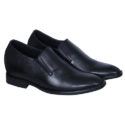 Elevato Height Increasing Leather Slip on 3 Inches